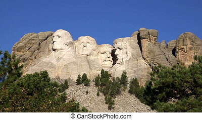 Mount Rushmore National Memorial During Daytime with Tree...