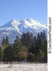 Mount Shasta California. - Mt. Shasta Northern California.