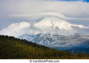 Mount Shasta in Northern California