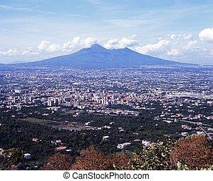 Mount Vesuvious, Italy.