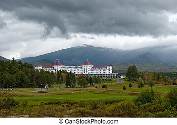 The Mount Washington Hotel is a National Historic Landmark opened in 1902