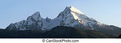 mount watzmann in the Berchtesgaden alps