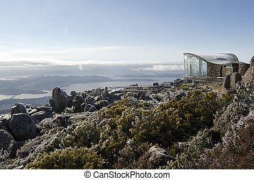 Mount Wellington Observatory or lookout for sightseeing on ...