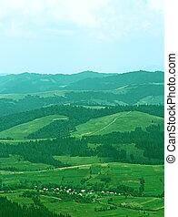 Mountain Aerial View