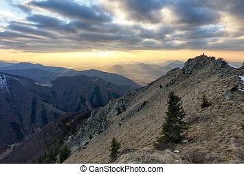 Mountain. Beautiful mountain landscape.