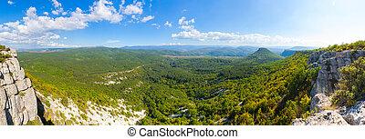 mountain Besh-Kosh and Balka Bink Ashlama Dere, view from...