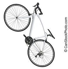 Mountain bicycle bike isolated