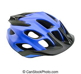 mountain bike helmet isolated