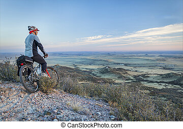 mountain biking in prairies