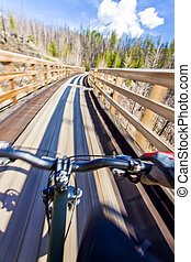 Mountain Biking Point of View