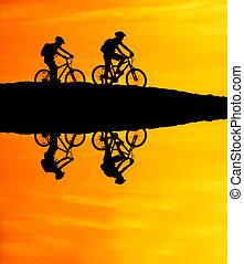 Mountain Biking Reflection