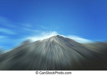 Mountain Blurred Image