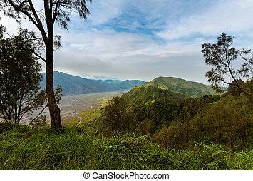 Mountain Bromo volcano - island Java Indonesia - Mountain ...