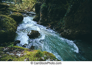 Mountain canyon River