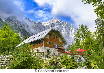 Mountain Chalet in Triglav Mountains