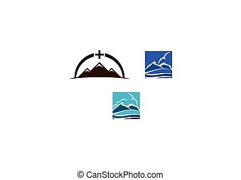 Mountain Design Template Set