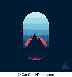 Mountain emblem