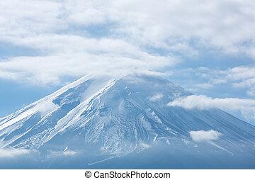 Mountain Fuji fujisan from kawaguchigo lake at Yamanashi ...