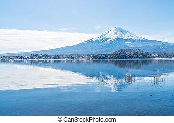 Mountain Fuji San at Kawaguchiko Lake. - Mountain Fuji San ...