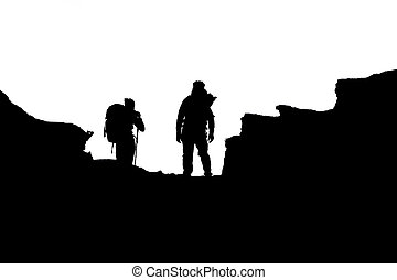 hiking illustrations and clipart 43288 hiking royalty