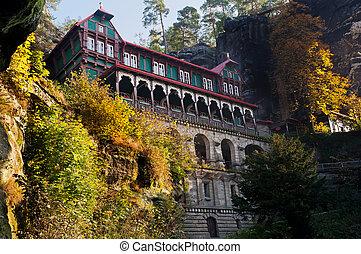 Mountain Hotel - Mountain hotel near Pravcicka brana - the...