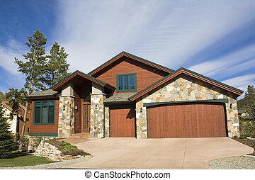 Mountain House in Colorado.
