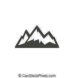 mountain icon symbol