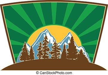 Mountain Illustration Vector
