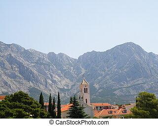 biokovo - mountain in croatia - biokovo