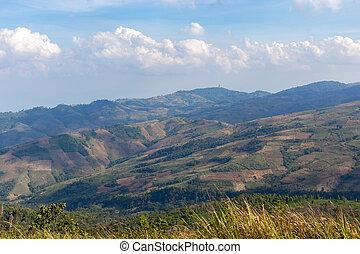 mountain in Phu Lom Lo