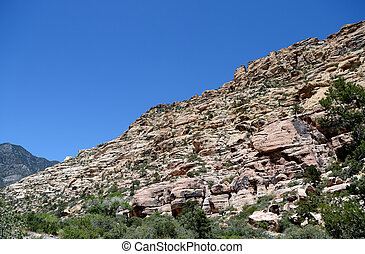 Mountain in Red Rock Canyon, Nevada