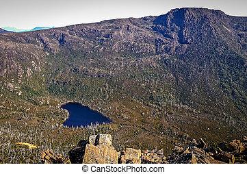 Mountain lake at Mt Field, Tasmania, Australia