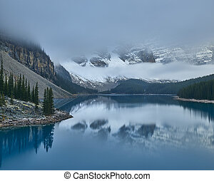 Mountain Lake in Canadian Rockies