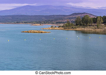 Mountain lake in Spain