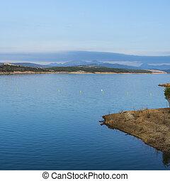 Mountain lake in Spain