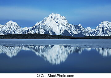Mountain lake - mountain lake