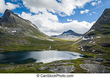 Mountain lake, Norway