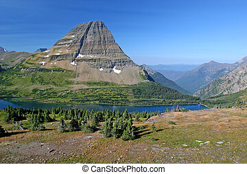 Mountain Lake - Hidden Lake Trail, Logan Pass, Glacier...