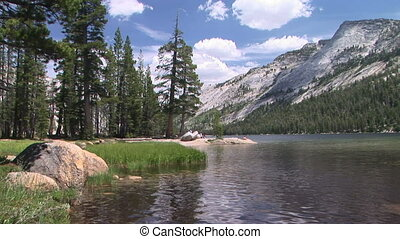 Mountain Lake - Yosemite National Park, Tenaya Lake