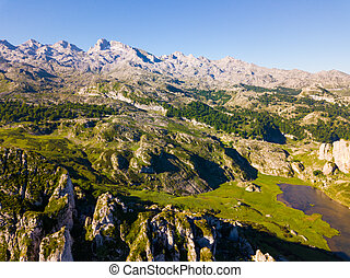 Mountain lakes of Covadonga