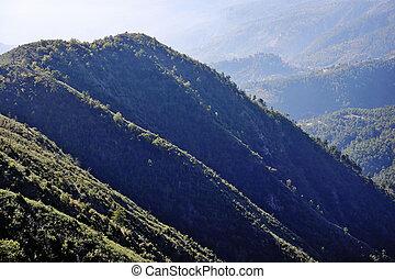 Mountain landscape Alpes-Maritimes