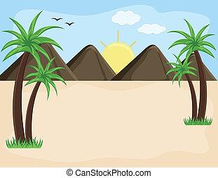 Mountain Landscape - Background