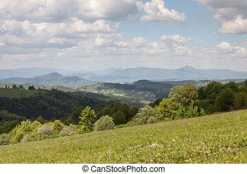 Mountain landscape, beauty of nature
