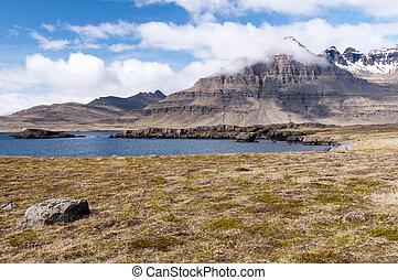 Mountain landscape, Iceland