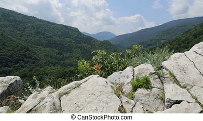 Mountain landscape in Bulgaria
