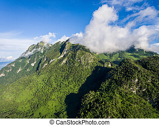 Mountain landscape in Chiang Mai, Thailand