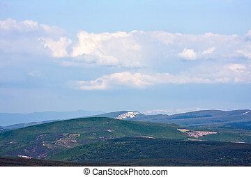 mountain landscape in Crimea