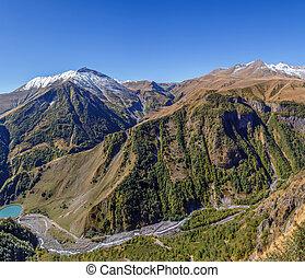 Mountain landscape in Georgia