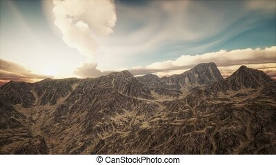 Mountain Landscape in High Altitude - mountain landscape in...