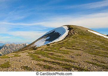 Mountain Landscape in Spring